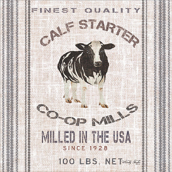 Cindy Jacobs CIN1097 - Calf Starter Cow, Feed Sack, Calf Starter, Farm, Feed from Penny Lane