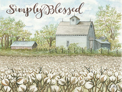 CIN1147 - Simply Blessed - 16x12