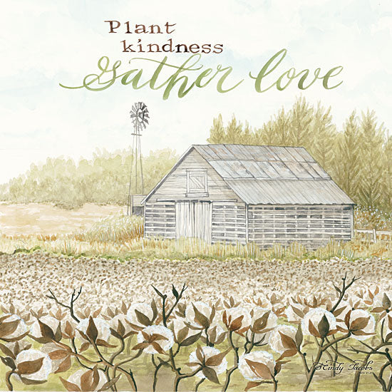 Cindy Jacobs CIN1150 - Gather Love Gather, Love, Farm, Barn, Cotton, Field from Penny Lane