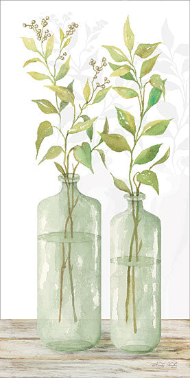 Cindy Jacobs CIN1175 - Simple Leaves in Jar I Glass Jars, Greenery, Plants from Penny Lane