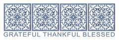 CIN1189 - Grateful, Thankful, Blessed - 24x8