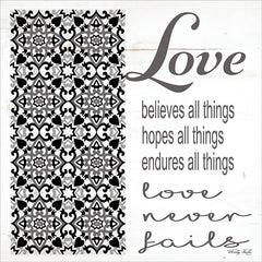 CIN1191 - Love Never Fails - 12x12