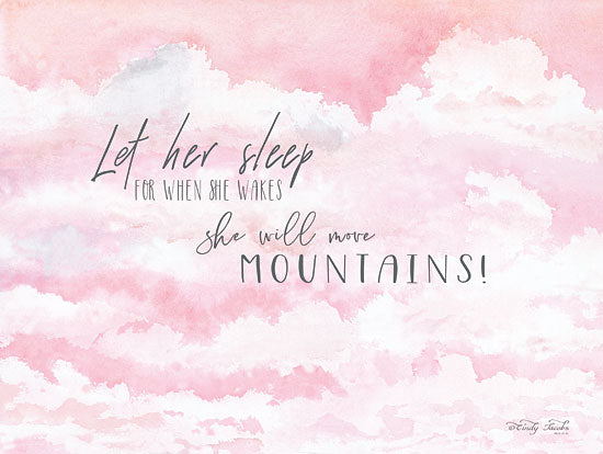 Cindy Jacobs CIN1201 - Let Her Sleep Let Her Sleep, Clouds, Pink & White, Babies from Penny Lane