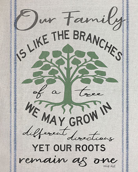 Cindy Jacobs CIN1210 - Our Family Our Family, Branches on a Tree, Tree, Roots, Signs from Penny Lane