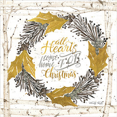 CIN1236 - All Hearts Come Home for Christmas Birch Wreath