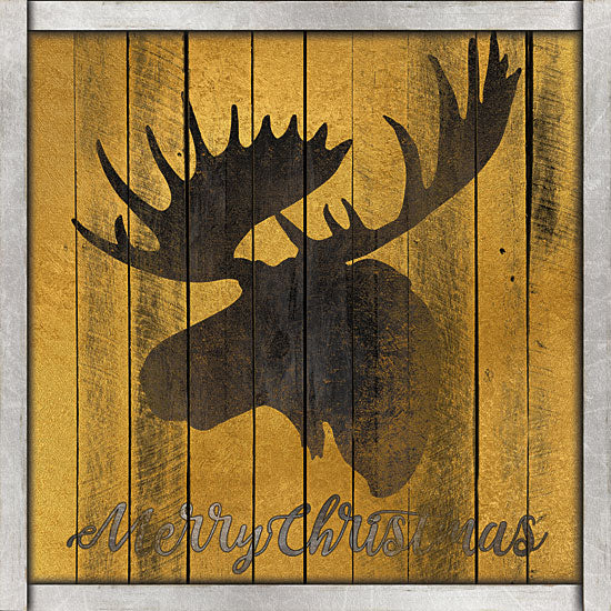 Cindy Jacobs CIN1279 - Merry Christmas Moose  Merry Christmas, Moose, Holidays, Portrait, Wood Inlay from Penny Lane