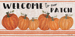CIN1284 - Welcome to Our Pumpkin Patch - 24x12