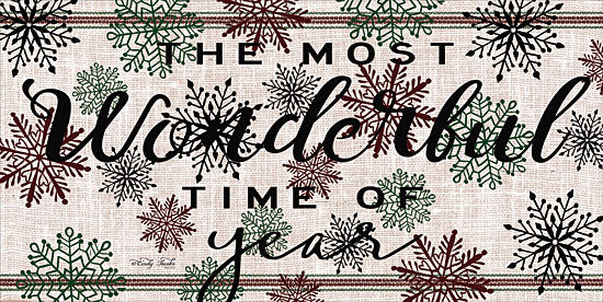 Cindy Jacobs CIN1293 - The Most Wonderful Time of the Year The Most Wonderful Time of the Year, Grain Sack, Snowflakes from Penny Lane