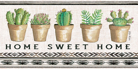 Cindy Jacobs CIN1316 - Native Home Sweet Home   Cactus, Succulents, Pots, Southwestern, Still Life, Home Sweet Home from Penny Lane