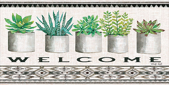 Cindy Jacobs CIN1318 - Native Welcome   Cactus, Succulents, Pots, Southwestern, Still Life, Welcome from Penny Lane