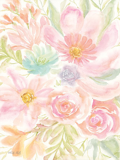 Cindy Jacobs CIN1356 - Mixed Floral Blooms II Flowers, Blooms, Botanical, Watercolor from Penny Lane
