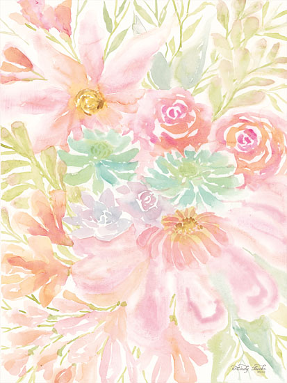 Cindy Jacobs CIN1357 - Mixed Floral Blooms III Flowers, Blooms, Botanical, Watercolor from Penny Lane