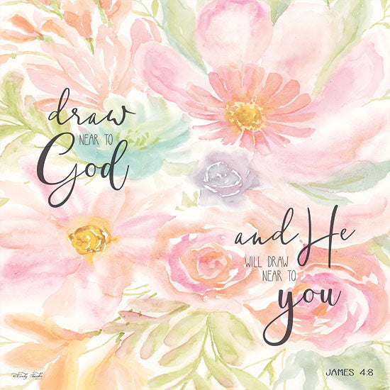 Cindy Jacobs CIN1362 - Draw Near to God Draw Near to God, Flowers, Blooms, Botanical, Signs from Penny Lane