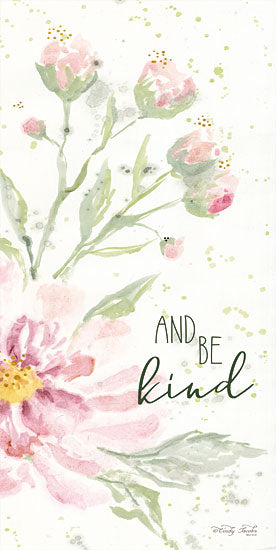 Cindy Jacobs CIN1369 - Floral Be Kind Be Kind, Flowers, Blooms, Botanical from Penny Lane