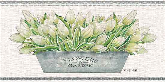 Cindy Jacobs CIN1397 - Flowers & Garden White Tulips Flowers, White Tulips, Tulips, Galvanized Pot, Botanical from Penny Lane