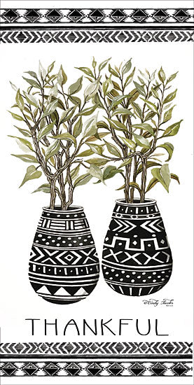 Cindy Jacobs CIN1409 - Thankful Mud Cloth Vase Mud Cloth, Vases, Cactus, Southwestern, Thankful from Penny Lane