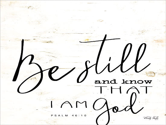 Cindy Jacobs CIN1420 - Be Still and Know Be Still and Know, Calligraphy, Religious, Psalm, Bible Verse from Penny Lane