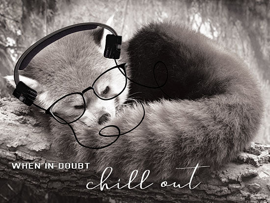 Cindy Jacobs CIN1447 - When In Doubt - 16x12 Chill Out, Fox, Tween, Humorous, Photography, Whimsy from Penny Lane