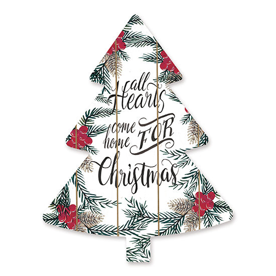 Cindy Jacobs CIN1469TREE - All Hearts     Holidays, Pine Branches, Pinecones, Berries, Christmas Tree, Signs  from Penny Lane
