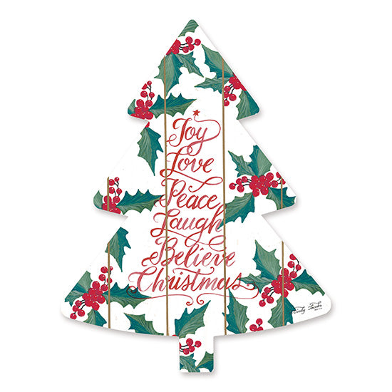 Cindy Jacobs CIN1470TREE - Joy Love Peace    Holidays, Holly Berries, Christmas Iconography, Christmas Trees from Penny Lane