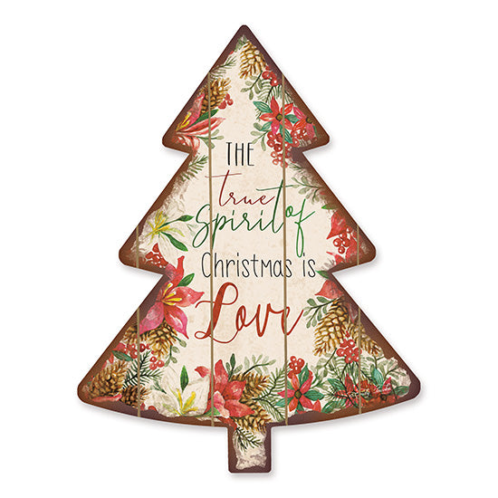 Cindy Jacobs CIN1472TREE - Spirit of Christmas    Holidays, True Spirit of Christmas, Pinecones, Poinsettias, Christmas Trees from Penny Lane