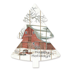CIN1479TREE - Barn Happy Holidays