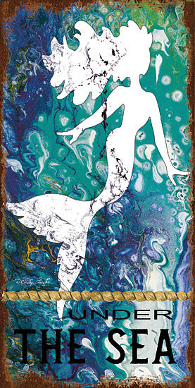 Cindy Jacobs CIN1520 - Under the Sea - 8x16 Mermaids, Under the Sea, Coastal, Tropical, Fantasy, Abstract from Penny Lane