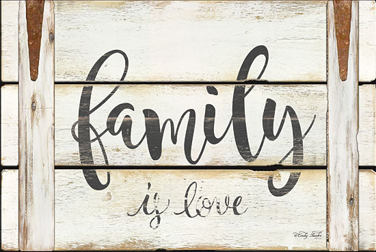 Cindy Jacobs CIN1558 - CIN1558 - Family is Love   - 18x12 Signs, Typography, Family, Wood Planks from Penny Lane
