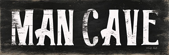 Cindy Jacobs CIN1566 - CIN1566 - Man Cave  - 18x6 Signs, Man Cave, Black & White, Typography from Penny Lane