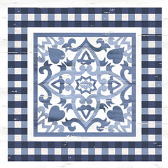 CIN1672 - Ivey Blue & White Tile - 12x12