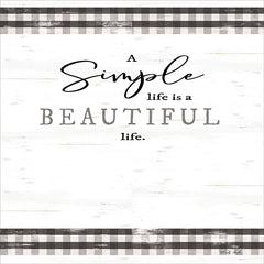 CIN1682 - Simple & Beautiful Life - 12x12