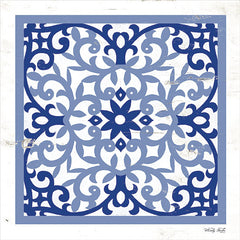 CIN1875 - Blue Tile V - 12x12