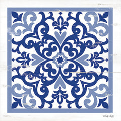 CIN1876 - Blue Tile VI - 12x12