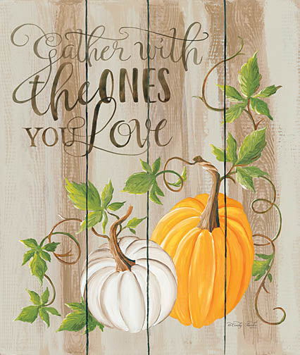 Cindy Jacobs CIN854 - Gather Pumpkins - Gather, Pumpkin, Wood Planks from Penny Lane Publishing