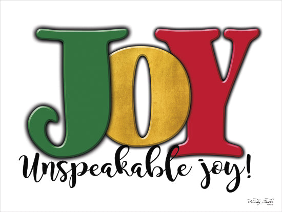 Cindy Jacobs CIN860 - Joy - Unspeakable Joy! - Joy, Holiday, Signs from Penny Lane Publishing
