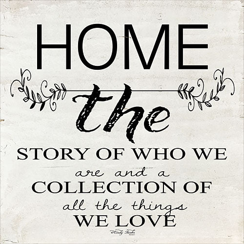 Cindy Jacobs CIN910 - Home - A Story of Who We Are - Home, Signs from Penny Lane Publishing