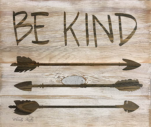Cindy Jacobs CIN931 - Be Kind Arrows - Kind, Feathers, Sign from Penny Lane Publishing