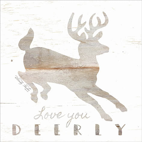 Cindy Jacobs CIN939 - Love You Deerly - Deer, Love, Neutral Colors from Penny Lane Publishing