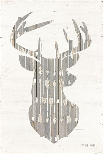 Cindy Jacobs CIN941 - Deer and Arrows Silhouette - Deer, Silhouette, Arrows from Penny Lane Publishing