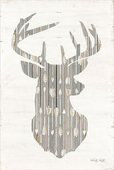 CIN941 - Deer and Arrows Silhouette - 12x18