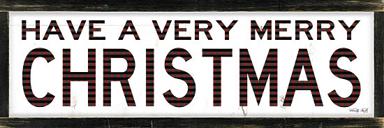 Cindy Jacobs CIN983 - Plaid Merry Christmas - Holiday, Christmas, Sign from Penny Lane Publishing