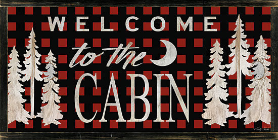 Cindy Jacobs CIN986 - Welcome to the Cabin - Cabin, Pine, Trees, Welcome, Plaid from Penny Lane Publishing