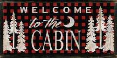 CIN986 - Welcome to the Cabin - 24x12