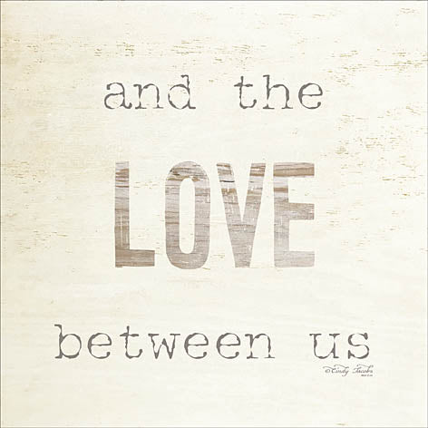 Cindy Jacobs CIN991 - And the Love Between Us - Love, Signs from Penny Lane Publishing