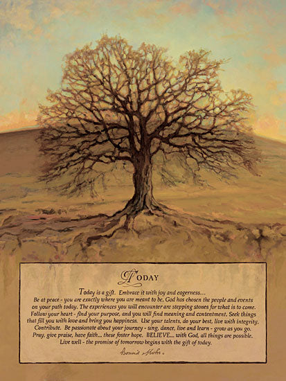 Bonnie Mohr COW290 - Today - Tree, Roots, Inspiring from Penny Lane Publishing