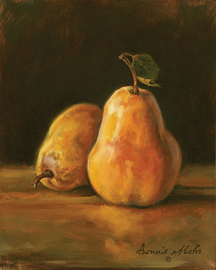 Bonnie Mohr COW332 - COW332 - Perfectly Peared - 12x16 Still Life, Pears, Classic from Penny Lane