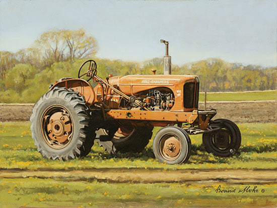 Bonnie Mohr COW335 - COW335 - Spectacular Allis - 16x12 Tractor, Landscape, Country, Farm Life from Penny Lane