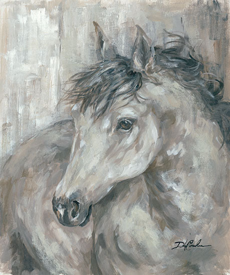 Debi Coules DC103 - True Spirit Horse, Black, Gray from Penny Lane