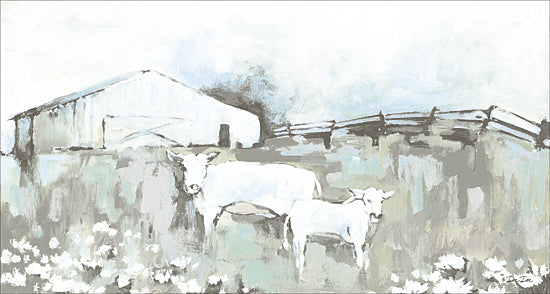 Dee Dee DD1625 - Cows on the Farm - Cows, Farm, Abstract, Neutral Color from Penny Lane Publishing