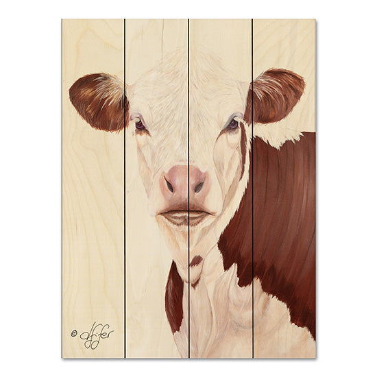 Diane Fifer DF102PAL - Life is Good Cow, Portrait, Farm from Penny Lane